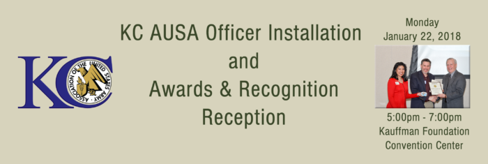 KC AUSA Awards & Recognition and Officer Installation Reception