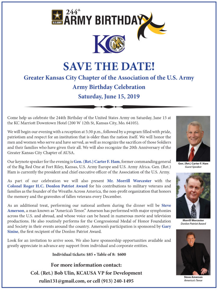 KC AUSA ABC 2019 Save the Date